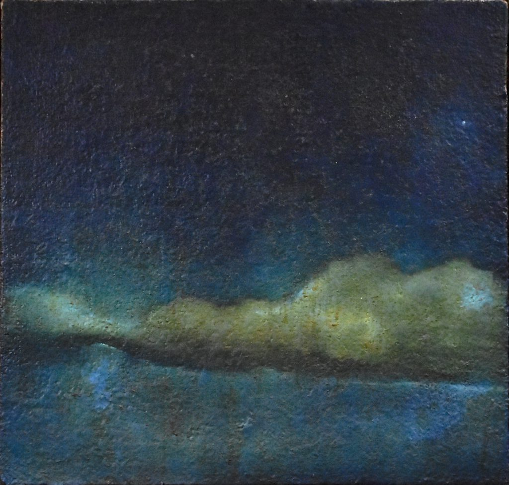 Cloud of Jupiter - Oil on Jute Canvas - 2011 - cm 35X40