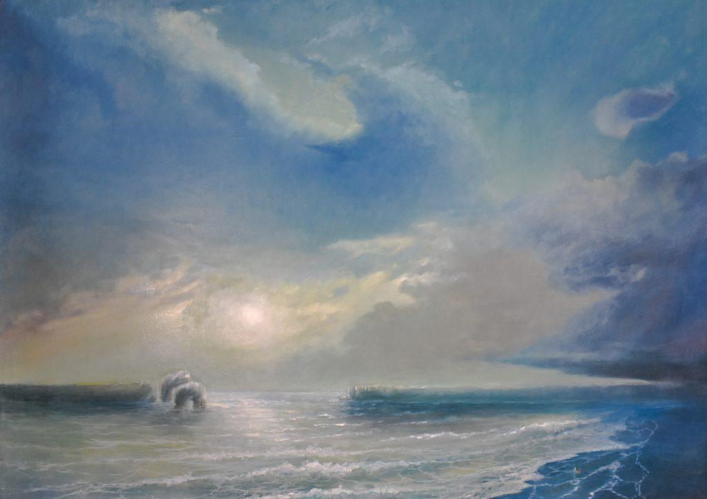 The Awakening Of Ullisse- Oil on Canvas - 2017 - cm 168X120