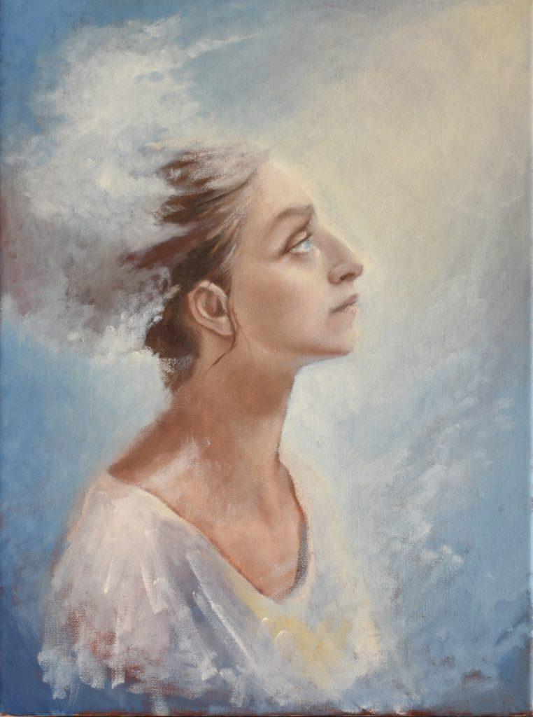 Aria - Oil on Canvas - 2018 - 30x40cm