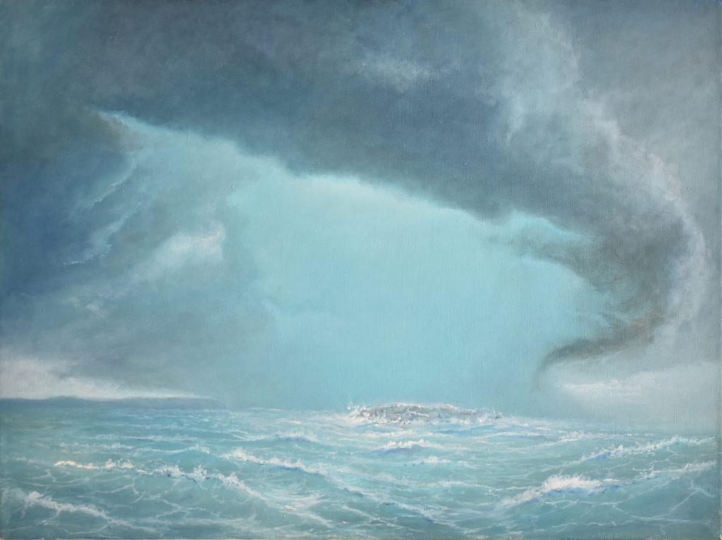 Blue Cloud - Oil on Canvas - 2017 - 90x60cm