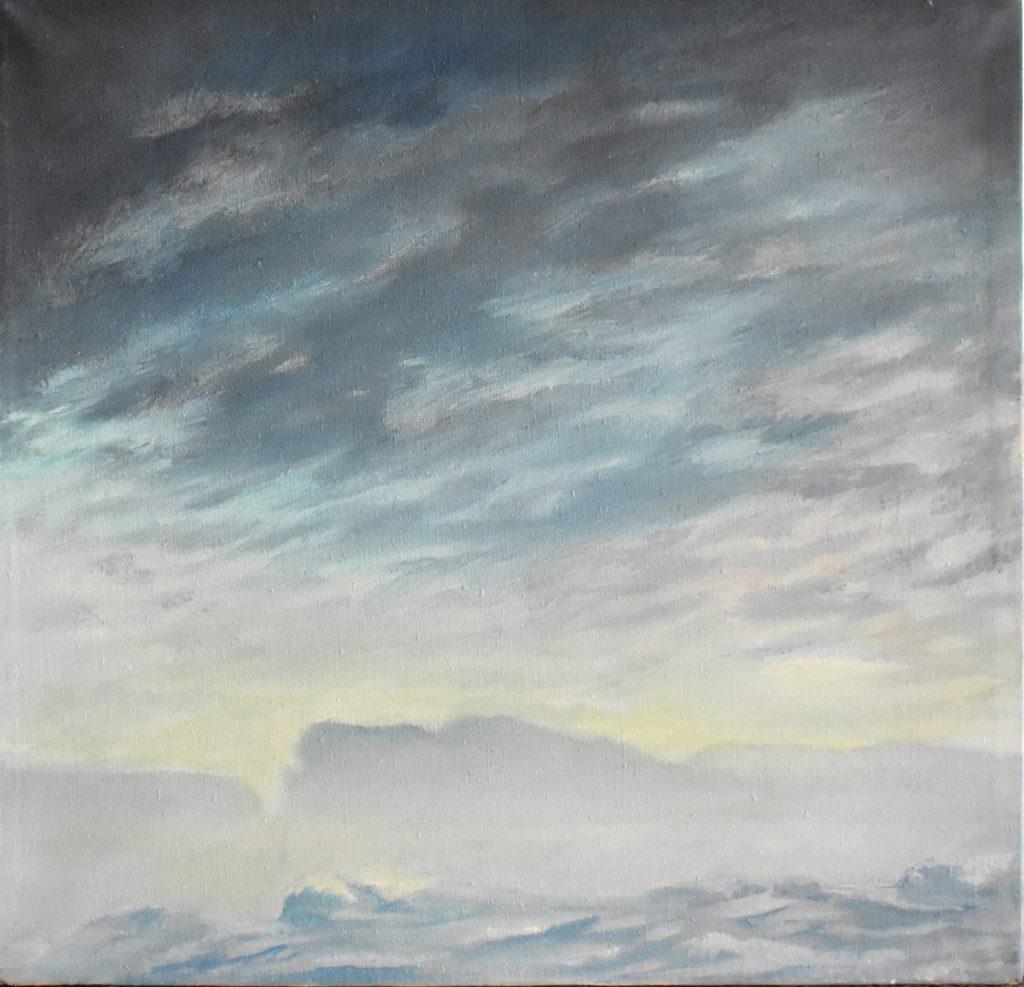 Dolce Risveglio - Oil on Canvas - 2018 - 29,3x30,5cm