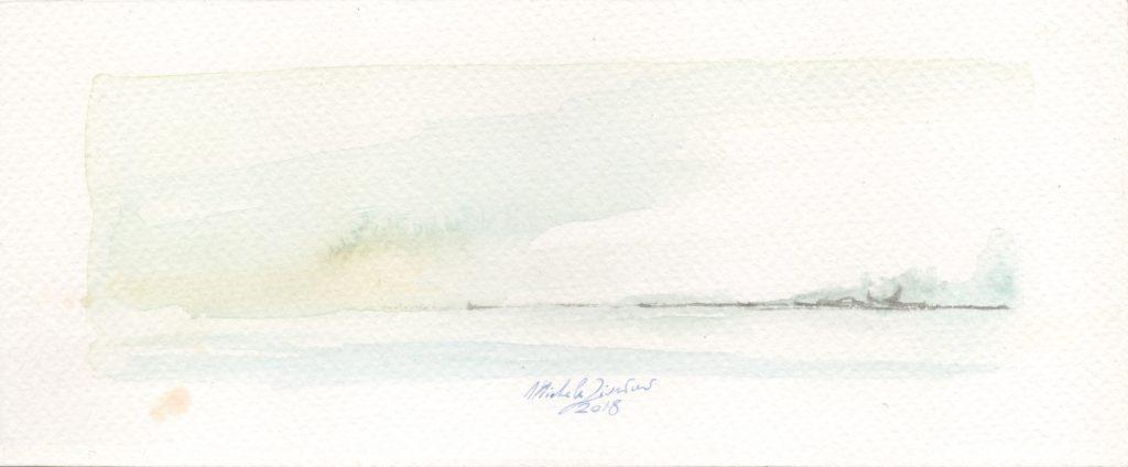 Perception - Watercolor - 2018 - 16x5cm